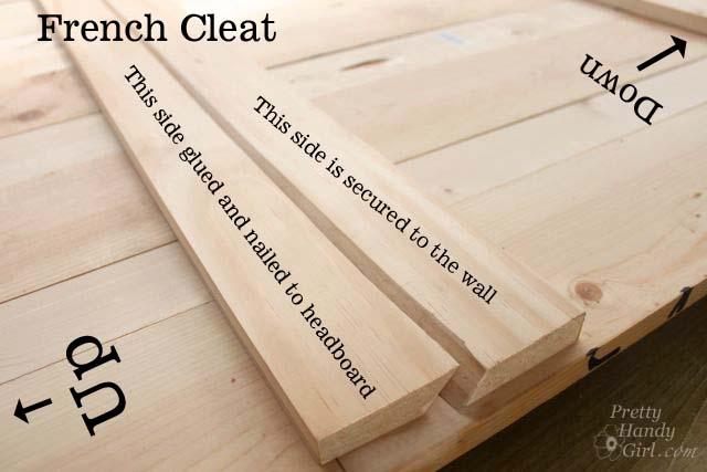 How To Create A Rustic Wood King Headboard Pretty Handy Girl