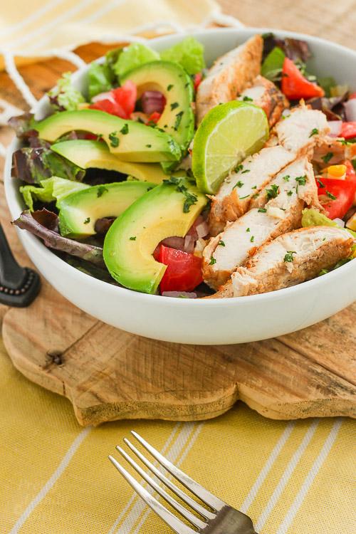Chipotle Ranch Chicken Salad - Easy, Healthy and Delicious! | Pretty ...